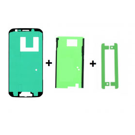 Sticker LCD + middle + batterie - Samsung S6 Edge