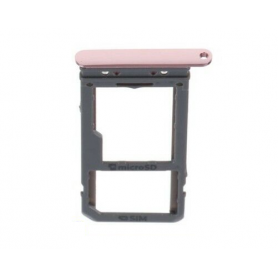 Support carte SIM rose - SIM Card Tray pink - Samsung S8 / S8+