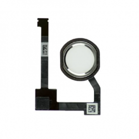 Home Button Assembly With Cable - Silver - iPad Mini 4/Air 2/Pro 12.9