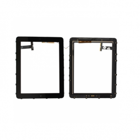Digitizer assembly - Black - iPad 1 WiFi+3G (A1337) - OEM
