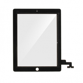 Digitizer + Home Button - Black - iPad 2 (A1395) WiFi - OEM