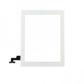 Digitizer + Home Button - White - iPad 2 (A395) WiFi - OEM
