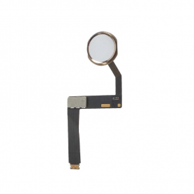 Home Button Assembly with Flex Cable - Gold - iPad Pro 9.7""