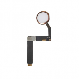 Home Button Assembly with Flex Cable - Rose Gold - iPad Pro 9.7""