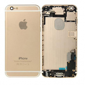Back Cover Housing Assembly - Gold - iPhone 6 - QA