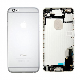 Back Cover Housing Assembly - Silver - iPhone 6 - QA