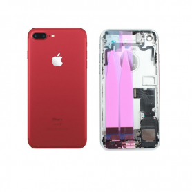 Back Cover Housing Assembly - Red - iP7+ QA