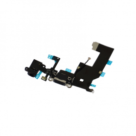 Charging Port Flex - Black - iP5S - QON