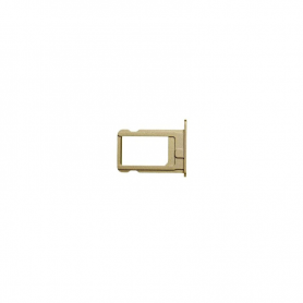 Sim Card Tray - Gold - iP5S/SE - QON