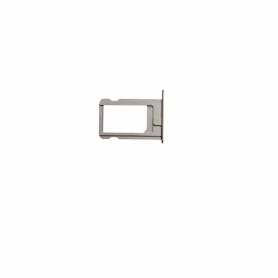 Sim Card Tray - Silver - iP5S/SE - QON