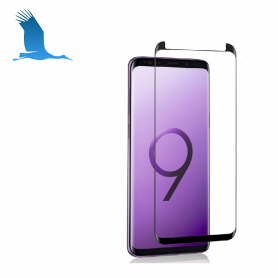 Tempered glass protection with adhesive - Pro - S9+