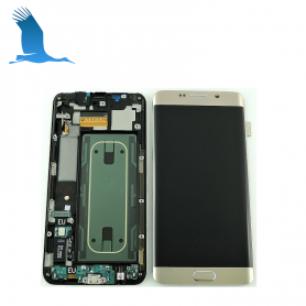 LCD + accessories  - Gold - Samsung Galaxy S6 Edge +