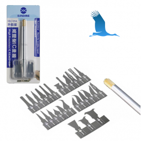 Spatula kit with 27 blades - Precision tools