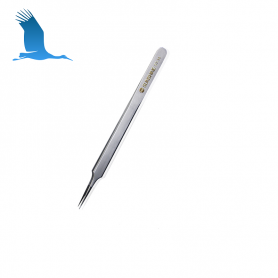 Precision tweezers right-hand tip - anti-static - anti-skid