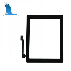 Digitizer + Home Button - Black - iPAD3 (A1416) WiFi - OEM