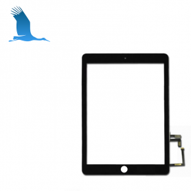 Digitizer  - Black - iPad 2017 - iPad 5 - A1822 / A1823 - withour Home Button
