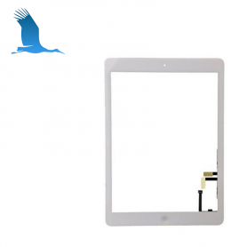 Digitizer - White  - iPad 2017 - iPad 5 - A1822 / A1823 - without Home-Taste