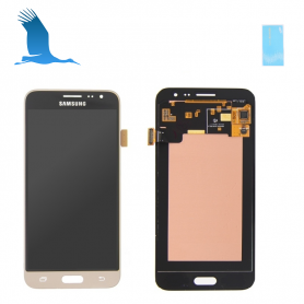 LCD Touchscreen - Gold - Samsung Galaxy J3 (2106) - SM-J320F