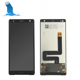 LCD Display + Touchscreen + Frame 1307-9885 - Black - Sony Xperia XZ Premium (G8141)