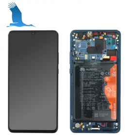 copy of LCD, Touchscreen & Frame - Blue - 02352DKM - Huawei Mate 20 Lite