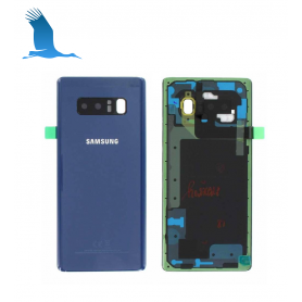Backcover - Blue - Samsung Galaxy Note 8 (SM-N950F) GH82-14979B - Service pack