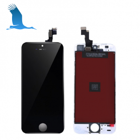 LCD & Digitizer - Black - iP5S/iPSE - Original QOR