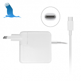 USB-C - AC Adaptor - 61W - Macbook - QOrig