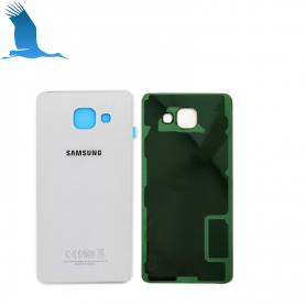 Backcover glass - White - A3(2016) - A310 - GH82-11093C - OEM