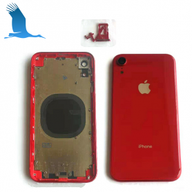Back cover frame with glass - Red - iPXR - QON
