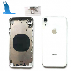 Back cover frame with glass - White - iPXR - QON