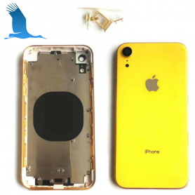 Back cover frame with glass - Yellow - iPXR - QON