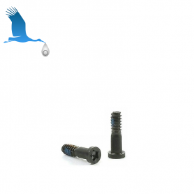 2 x Closing Screw - Black - iP7 / iP7+ Oroginal