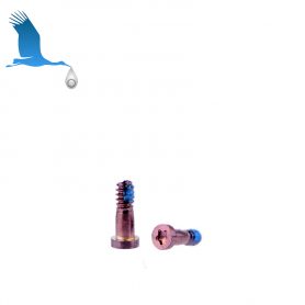 2 x Closing Screw - Pink - iP7 / iP7+ Orig