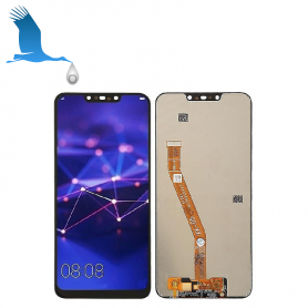 LCD & Touchscreen - Black - Huawei Mate 20 Lite