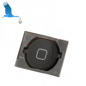 Home Button With Gasket - Black - iPhone 4S