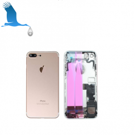 Back Cover Housing Assembly - Gold - iPhone 7 - OEM/QOR