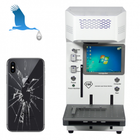 Remove, in 10 minutes, the broken glass from your mobile - iPhone 8, 8+, X, XR, Xs, Xsmax, 11