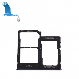 SIM and memory card holder - Black - A40