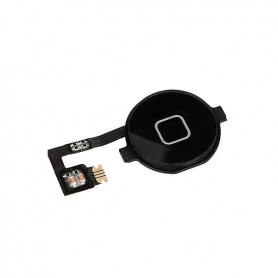 Nappe + bouton home iPhone 4 - Noir