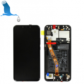 copy of LCD + Frame + Batterie - Black - Huawei P Smart + (INE-LX1)