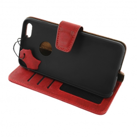 Leather Case - Valeria red - iPhone 6+ / 6S+