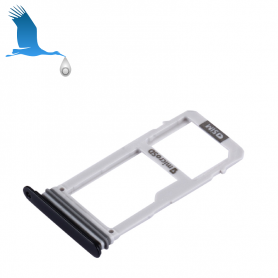 Sim Card Tray - Double - Blue - Galaxy A3 (2017) - A320F