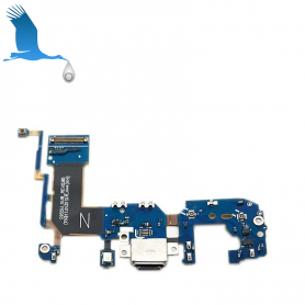 Charge Connector Flex Cable With Microphone - S8 + (G955F)