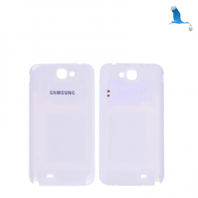 Back cover batterie - White - Samsung Galaxy Note 2 - N7100F - oem