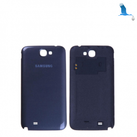 Back cover batterie - Black - Samsung Galaxy Note 2 - N7100F - oem