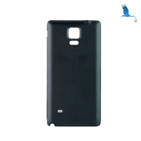 Back cover batterie - Black - Samsung Galaxy Note 4 - N910F - qor