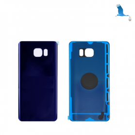 Back cover batterie - Blue - Samsung Galaxy Note 5 - N920F - qor