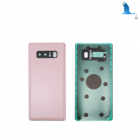 Back cover batterie case with lens - Pink - Note 8 - N950F - qor