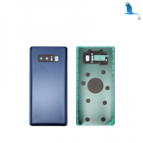 Back cover batterie case with lens - Blue - Note 8 - N950F - qor