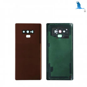 Back cover batterie case with lens - Braun - Note 9 - N960F - qor
